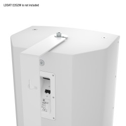 LD Systems SAT 122 G2 WMB W Swivel wall mount for SAT 122 G2 white