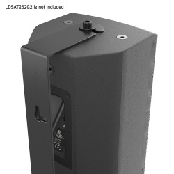 LD Systems SAT 262 G2 WMB Swivel wall mount for SAT 262 G2 black