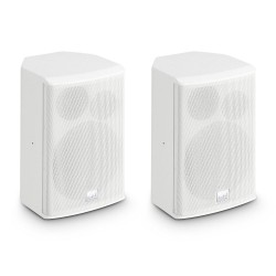 """LD Systems SAT 62 G2 W 6.5 Installation Monitor passive white (pair)"""""""