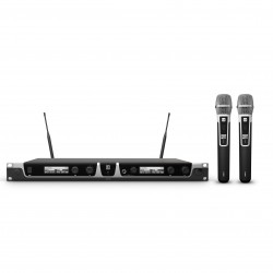 LD Systems U505 HHC 2 Wireless Microphone System with 2 x Condenser Handheld Microphone