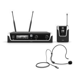 LD Systems U506 BPH Wireless Microphone System with Bodypack and Headset