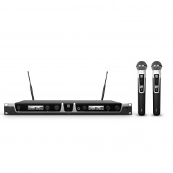LD Systems U506 HHD 2 Wireless Microphone System with 2 x Dynamic Handheld Microphone
