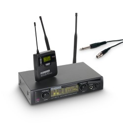 LD Systems WIN 42 BPG B 5 Wireless Microphone System with Belt Pack and Guitar Cable band 5 584 - 607 MHz