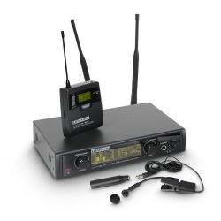 LD Systems WIN 42 BPW Funkmikrofon System mit Belt Pack und Blasinstrumenten Mikrofon