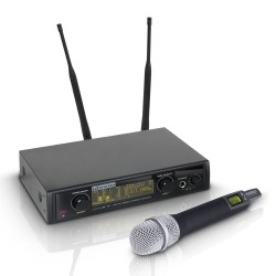 LD Systems WIN 42 HHC B 5 Wireless Microphone System with Condenser Handheld Microphone