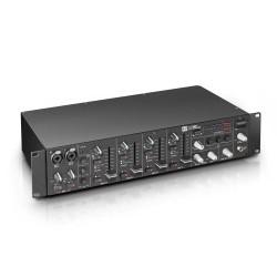 "LD Systems ZONE 423 19 2-Zone Mixer 2U"""
