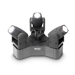 Cameo HYDRABEAM 300 W Lighting system with 3 ultra-fast 10 W Lumi-Engin LED Moving Heads