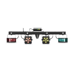 Cameo MULTI FX BAR All-In-One Solution with 5 Lighting Effects for Mobile DJs, Entertainers and Bands