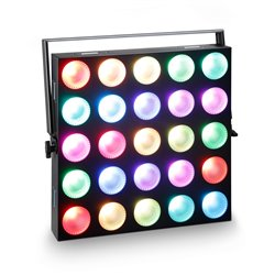 Cameo MATRIX PANEL 10 W RGB - 5 x 5 RGB LED Matrix Panel with Single Pixel Control