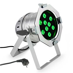 Cameo PAR 56 CAN TRI RGB 3W 9 x 3 W TRI colour LED RGB light in polished housing