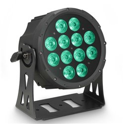 Cameo FLAT PRO 12 12 x 10 W FLAT LED RGBWA PAR light in black housing