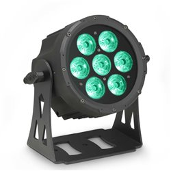 Cameo FLAT PRO 7 7 x 10 W FLAT LED RGBWA PAR light in black housing