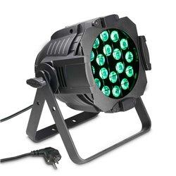 Cameo Studio PAR 64 CAN Q 8W 18 x 8W QUAD Colour LED RGBW PAR light in black housing