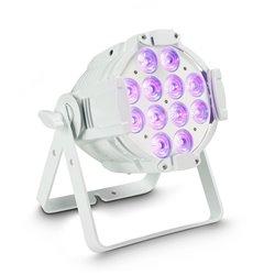 Cameo Studio PAR 64 CAN RGBWA+UV 12 W WH 12 x12W LED RGBWA+UV PAR light in white housing