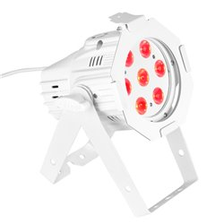 Cameo Studio Mini PAR Q 8WWH 7 x 8 W QUAD Colour LED PAR Can RGBW in white housing
