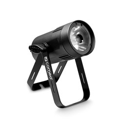 Cameo Q-Spot 15 W Compact Spot Light with 15W warm white LED in black housing