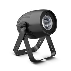 Cameo Q-SPOT40 CW Compact Spotlight with 40W Cold White LED in Black Housing