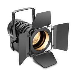 Cameo TS 40 WW Theatre spotlight with PC lens and 40 watt warm white LED in black housing