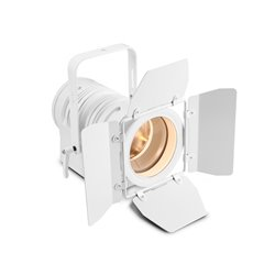 Cameo TS 40 WW WH Theatre spotlight with PC lens and 40 watt warm white LED in white housing