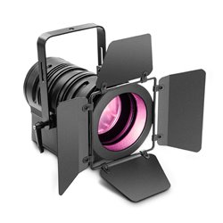 Cameo TS 60 W RGBW Theatre spotlight with PC lens and 60W RGBW LED in black Housing