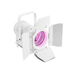 Cameo TS 60 W RGBW WH Theatre spotlight with PC lens and 60W RGBW LED in white Housing