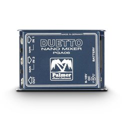 Palmer MI DUETTO Nano Mixer for Guitars and Line Signals
