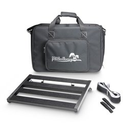 Palmer MI PEDALBAY® 40 Lightweight variable Pedalboard with Protective Softcase 45cm