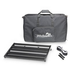 Palmer MI PEDALBAY® 60 L Lightweight variable Pedalboard with Protective Softcase 60cm