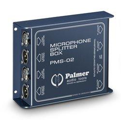 Palmer Pro PMS 02 Dual Channel Microphone Splitter