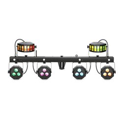 Cameo MULTI FX BAR EZ - LED Lighting System with 3 Lighting Effects for Mobile DJs, Entertainers and Bands