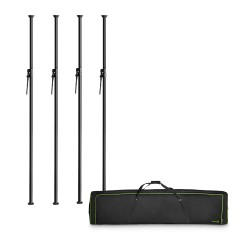 Gravity LS VP SET 1 - Vari-Pole® Set of 4 Clamping Poles in Transport Bag