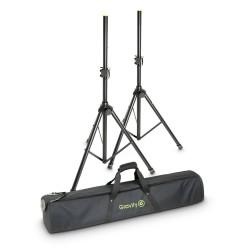 Gravity SS 5212 B SET 1 Speaker Stand Set 2 Speaker Stands steel with Bag