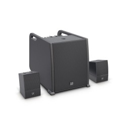 LD Systems CURV 500 AVS Portable Array System AV Set including Speaker Cables