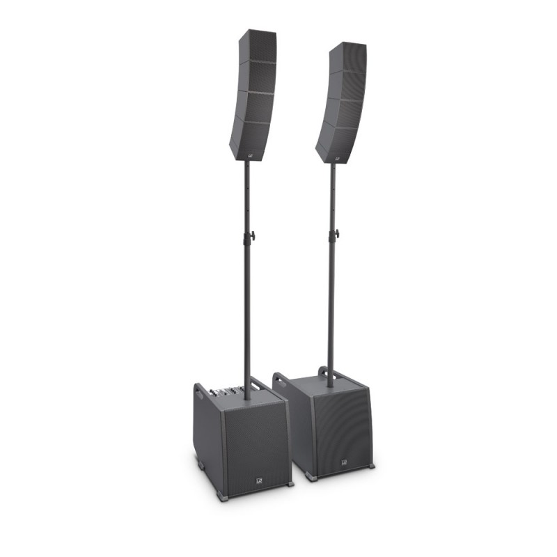 LD Systems CURV 500 PS Portable Array System Power Set including Distance Bars & Speaker Cables