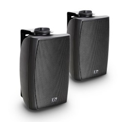 LD Systems Contractor CWMS 42 B 4 2-way Wall Mount Speaker black (pair)""