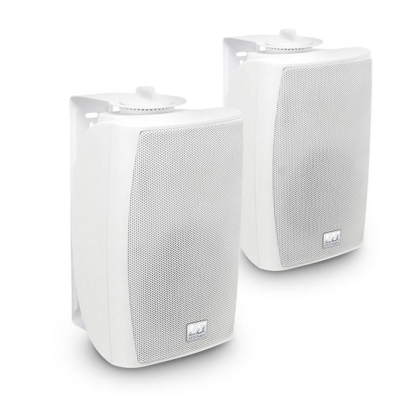 LD Systems Contractor CWMS 42 W 4 2-way wall mount speaker white (pair)""