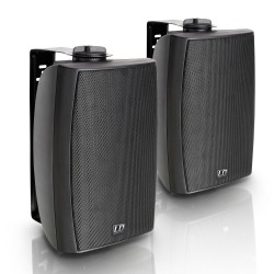 """LD Systems Contractor CWMS 52 B 100 V 5.25 2-way Wall Mount Speaker 100 V black (pair)"""""""