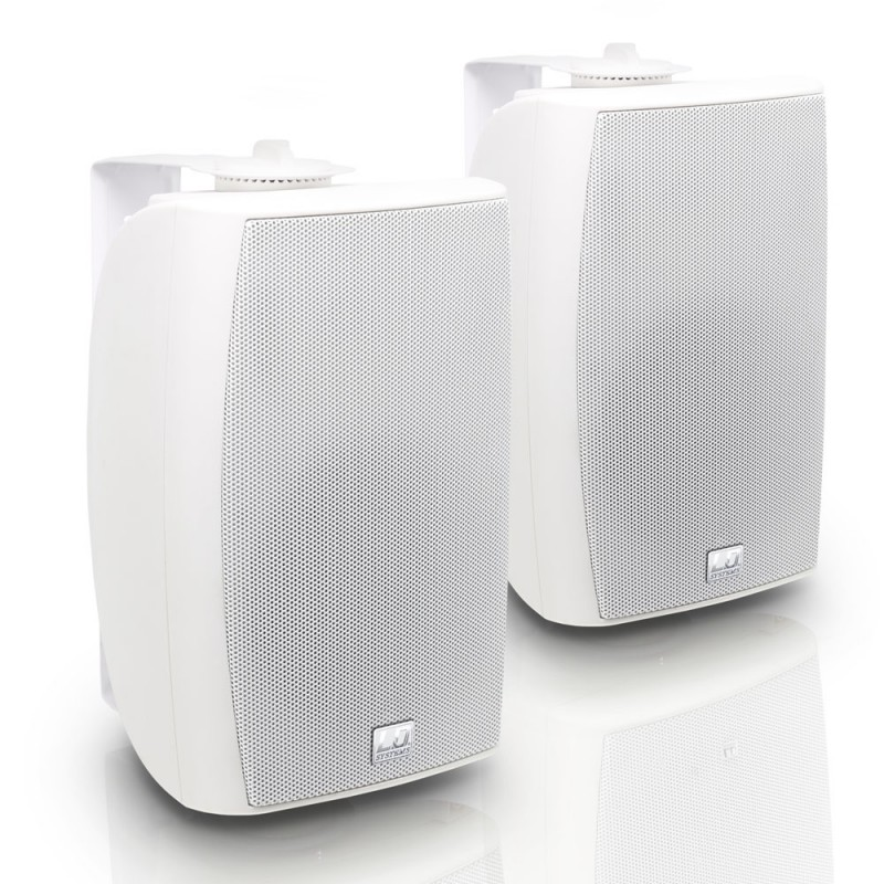 LD Systems Contractor CWMS 52 W 5.25 2-way Wall Mount Speaker white (pair)""