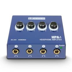 LD Systems HPA 4 Kopfhörerverstärker 4 Kanal