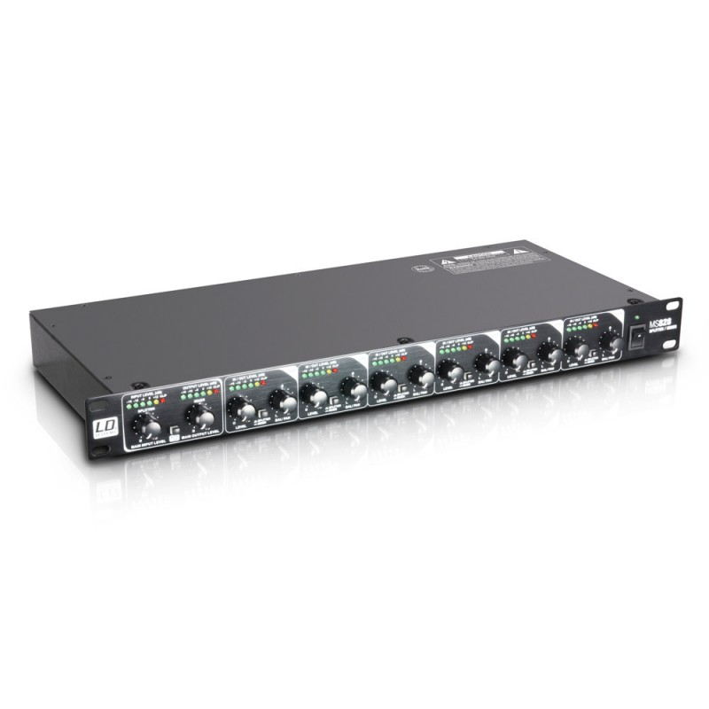 """LD Systems MS 828 19 8-Channel Splitter/Mixer"""""""