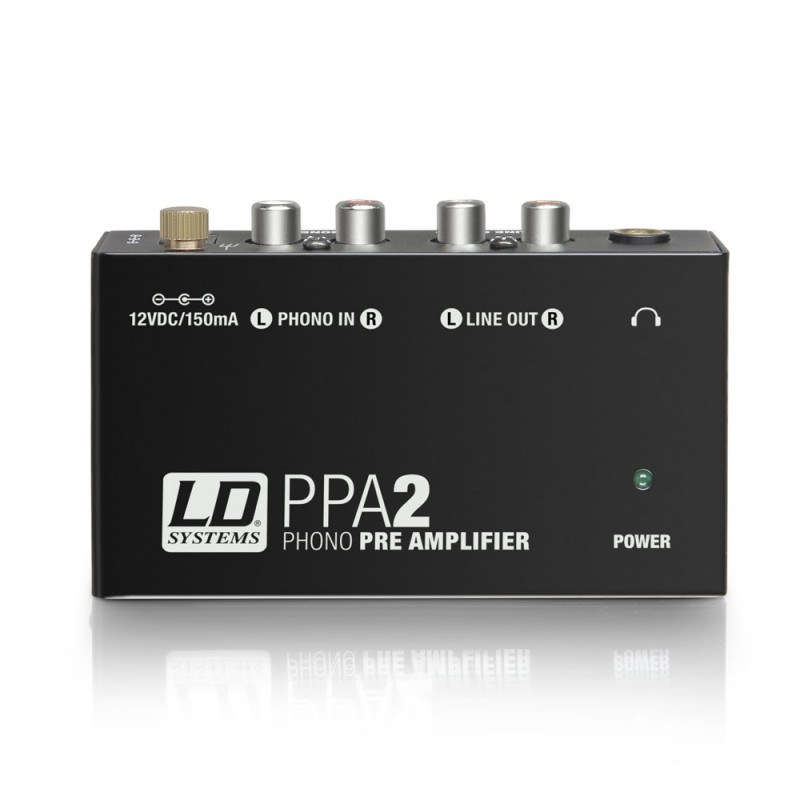 LD Systems PPA 2 Phono Preamplifier and Equalizer