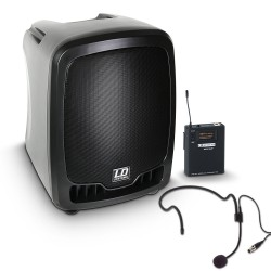 LD Systems Roadboy 65 HS B5 Portable PA Speaker with Headset