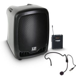 LD Systems Roadboy 65 HS B6 Portable PA Speaker with Headset
