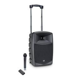 Prenosni aktivni baterijski zvočnik LD Systems ROADBUDDY 10 B6 + brezžični ročni mikrofon