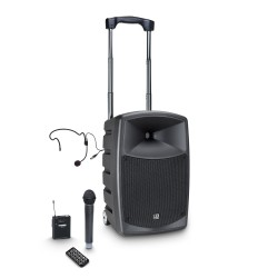 LD Systems ROADBUDDY 10 HBH 2 B6 Battery-Powered Bluetooth Speaker with Mixer and Wireless Microphone