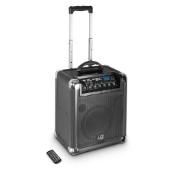 LD Systems Roadjack 8 Battery Powered Bluetooth Loudspeaker with Mixer